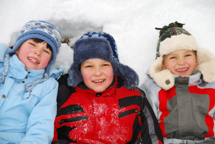 Children Playing in the Snow, © Dreamstime.com