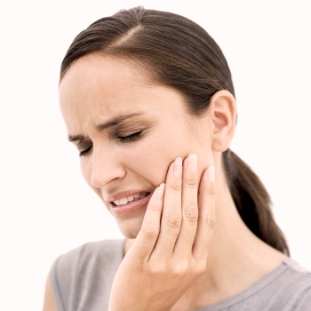 Mouth pain after extraction