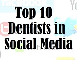 Top 10 Dentists in Social Media badge