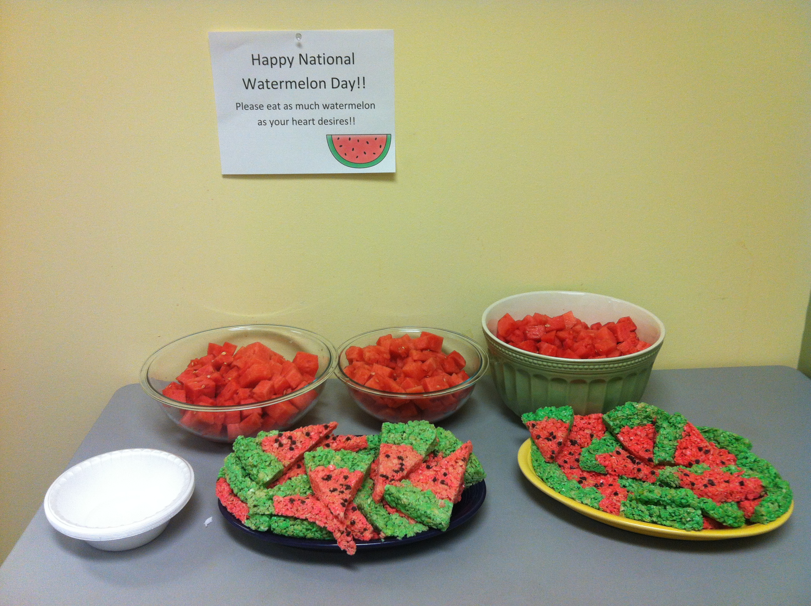 1Dental celebrates National Watermelon Day