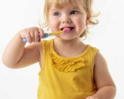 Brushing teeth for kids
