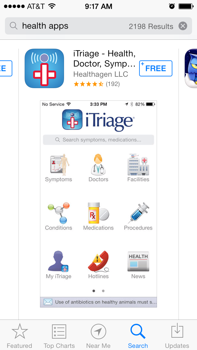 iTriage Health App