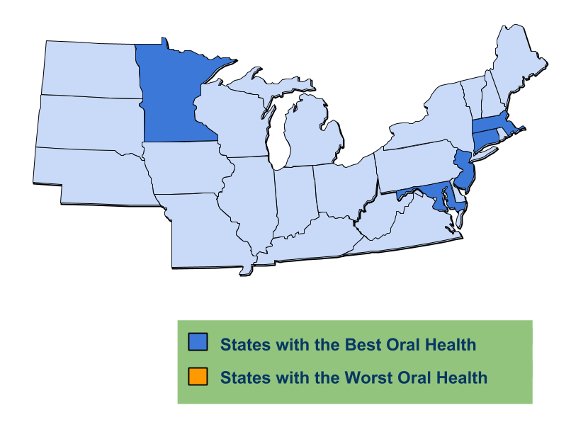 States with the Best Oral Health