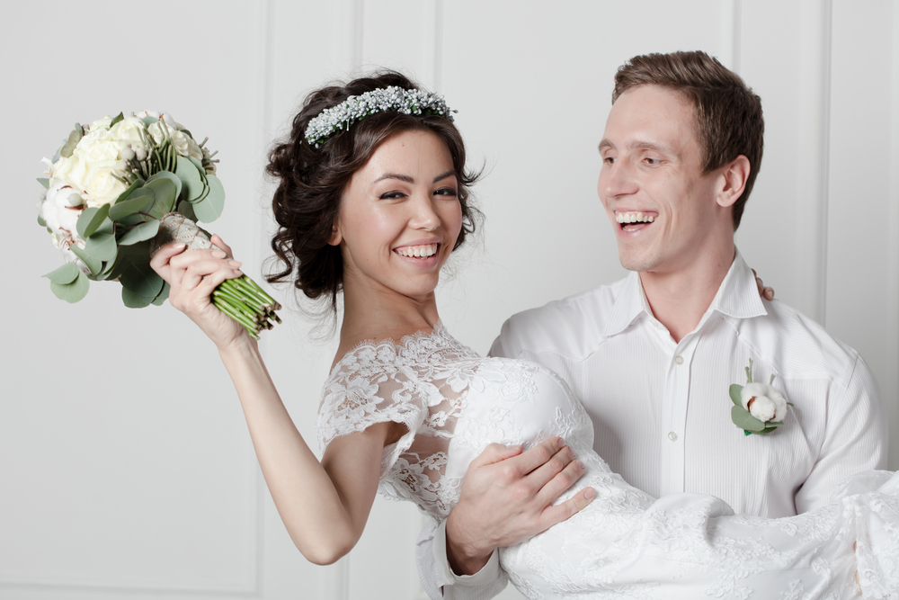 Best Wedding Day Smile