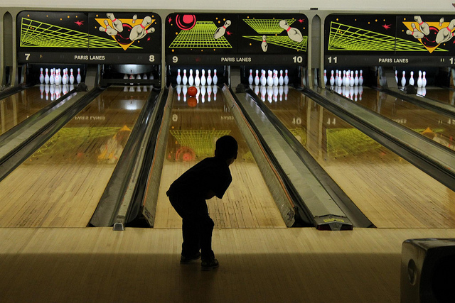 Child Bowling Helps Fight Against Child Obesity