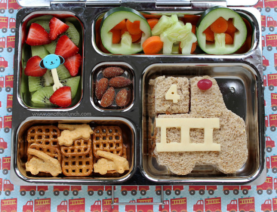 Creative Lunch To Eat Healthy Food