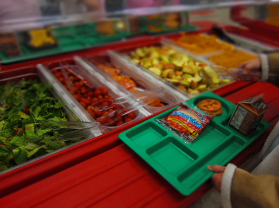 Healthy School Lunches Lunch Line