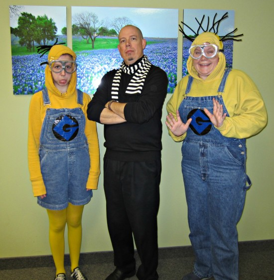 Despicable Me Pinterest Winners Announced Halloween 2014