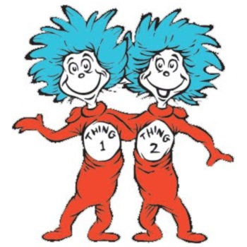 Thing 1 & Thing 2 For Halloween 2014
