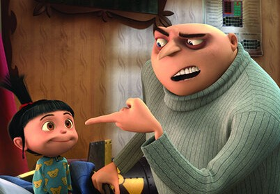 Kids Dental Care In The Movies: Despicable Me Did You Brush Your Teeth Scene