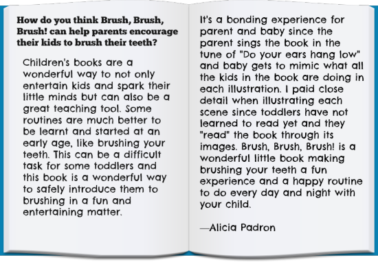 Top 10 Dental Books For Kids: Alicia Padron Quote
