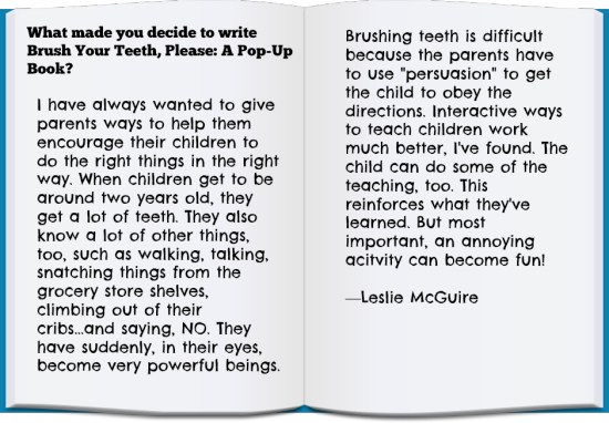 Top 10 Dental Books For Kids: Leslie McGuire Quote