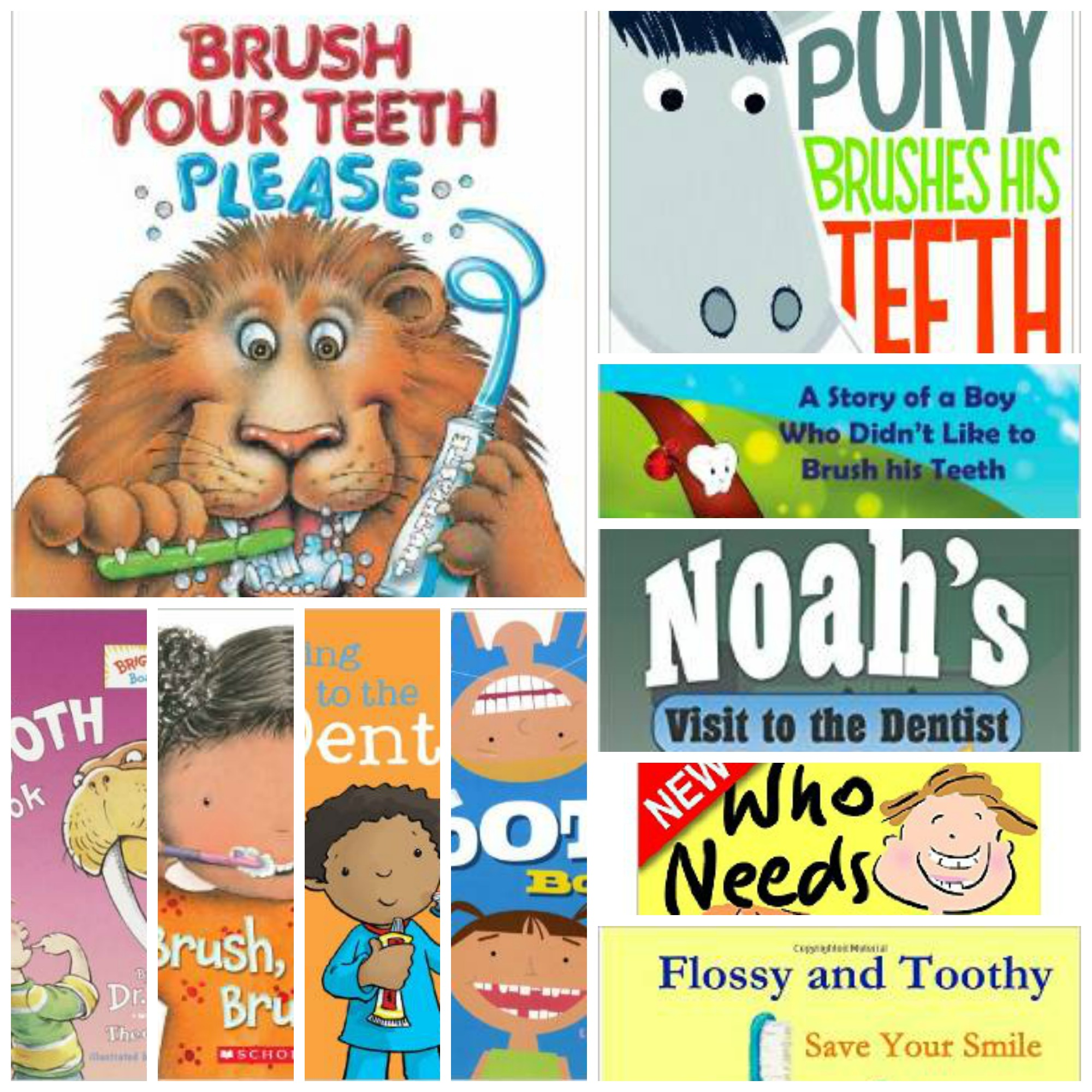 top 10 dental books for kids