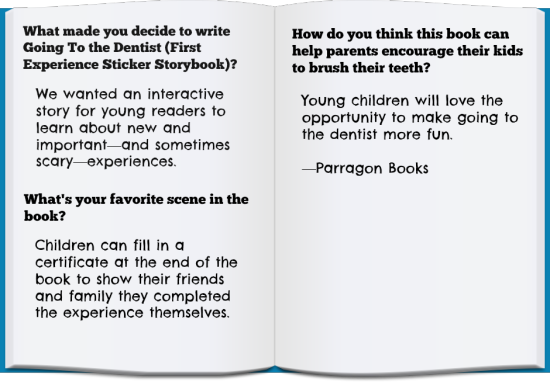 Top 10 Dental Books For Kids: Parragon Books Quote