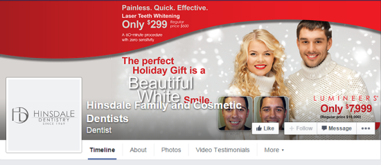 Top 10 Dentists On Social Media: Hinsdale Family and Cosmetic Dentists