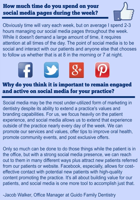 Top 10 Dentists On Social Media: Quote Box_Guido Family Dentistry