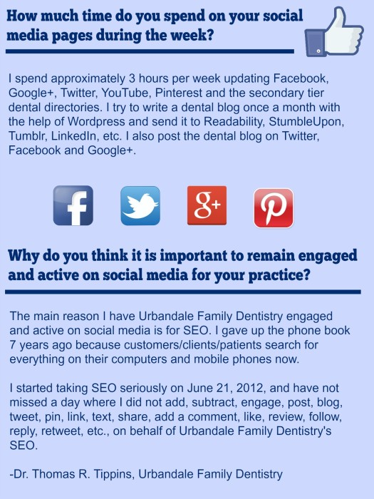 Top 10 Dentists On Social Media: Quote Box_Urbandale Family Dentistry