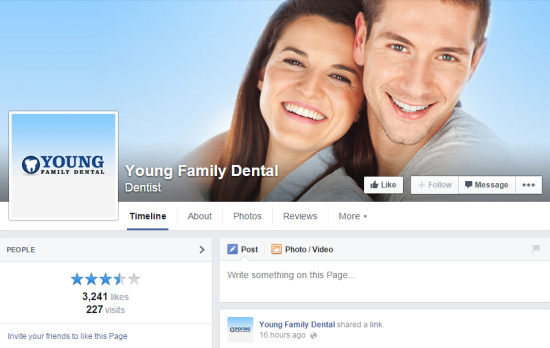 Top 10 Dentists On Social Media: Young Family Dental