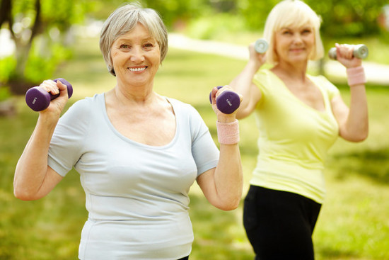 Exercise with a Friend - Great Summer Activities for Seniors