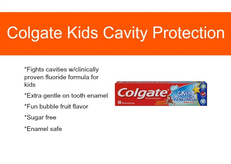 Colgate Kids Cavity Protection