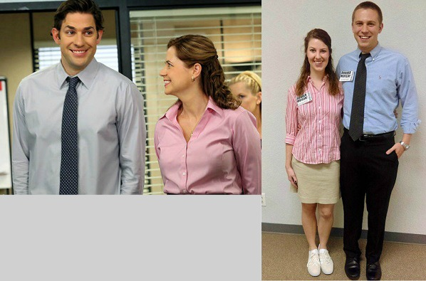 Jim and Pam The Office Halloween Costumes