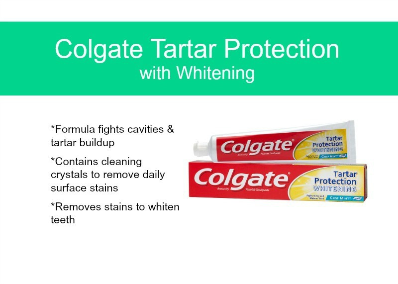 Colgate Tartar Protection with Whitening