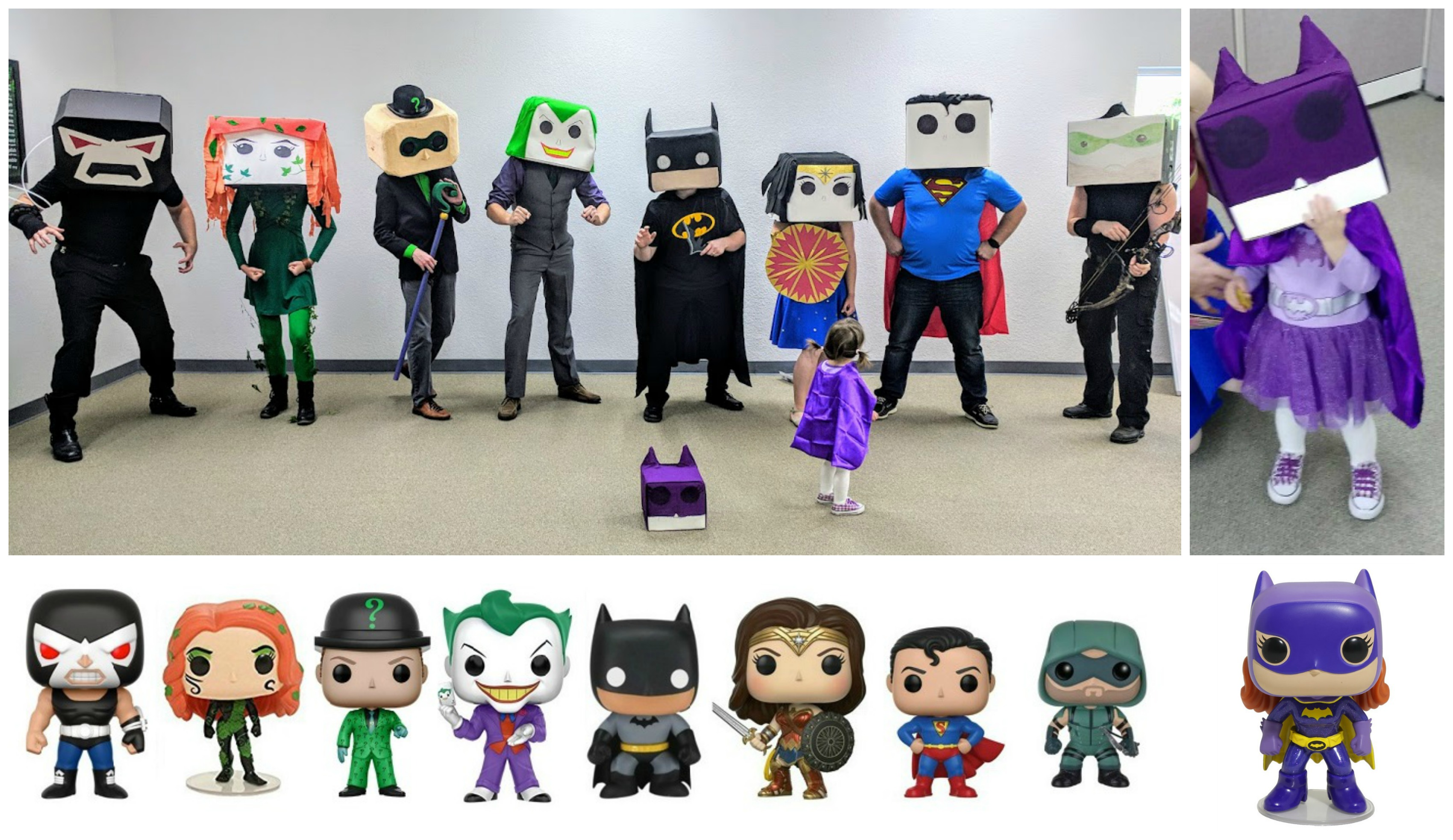 DC Comic Funko Pop Dolls
