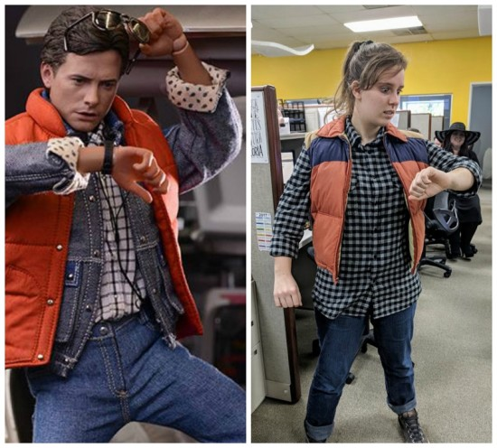 Marty McFly Halloween Costume Idea