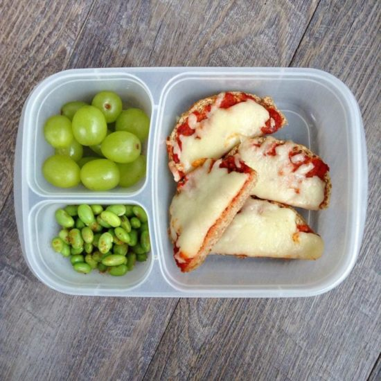 English Muffin Pizza Lunch Box