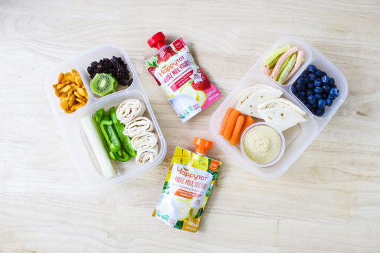 Mediterranean Lunch Box for Kids - Healthy Back to School Lunches