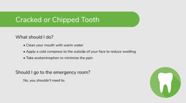 What to Do for a Cracked or Chipped Tooth (Dental Emergency)
