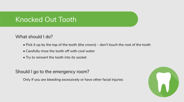 What to Do About a Knocked Out Tooth (Dental Emergency)
