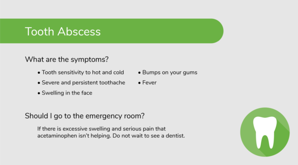 What Should I Do About a Tooth Abscess (Dental Emergency)